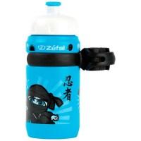 Bidon Zefal Ninja Fijacion Infantil azul 1