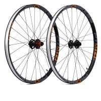 Juego ruedas progress mt+ 27,5 naranja 12x142mm