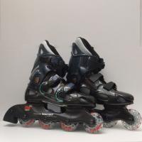Patines en linea skate im sport speed race vista lateral